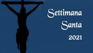 Calendario Settimana Santa 2021