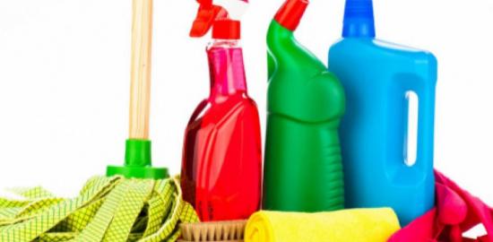Volontariato pulizia locali parrocchia Budrione